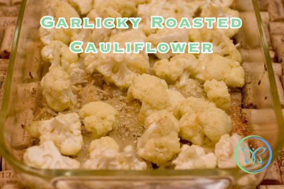 Garlicky Roasted Cauliflower