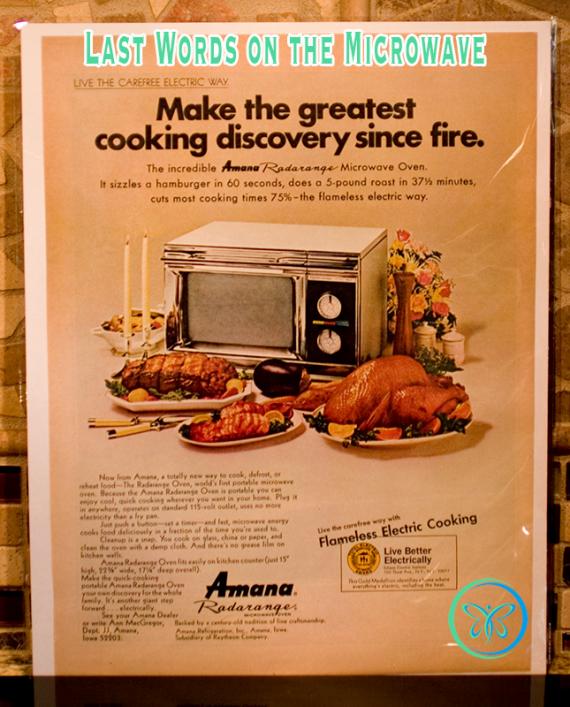 Amana Radarange Microwave Oven Ad