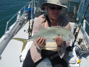 This is me and Jack Crevalle