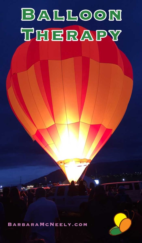 Albuquerque International Balloon Fiesta - Early Morning Balloons