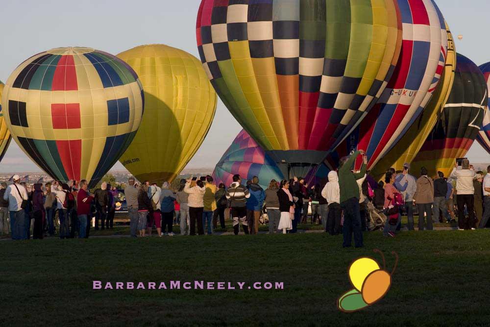 Albuquerque International Balloon Fiesta - Lots of Balloons