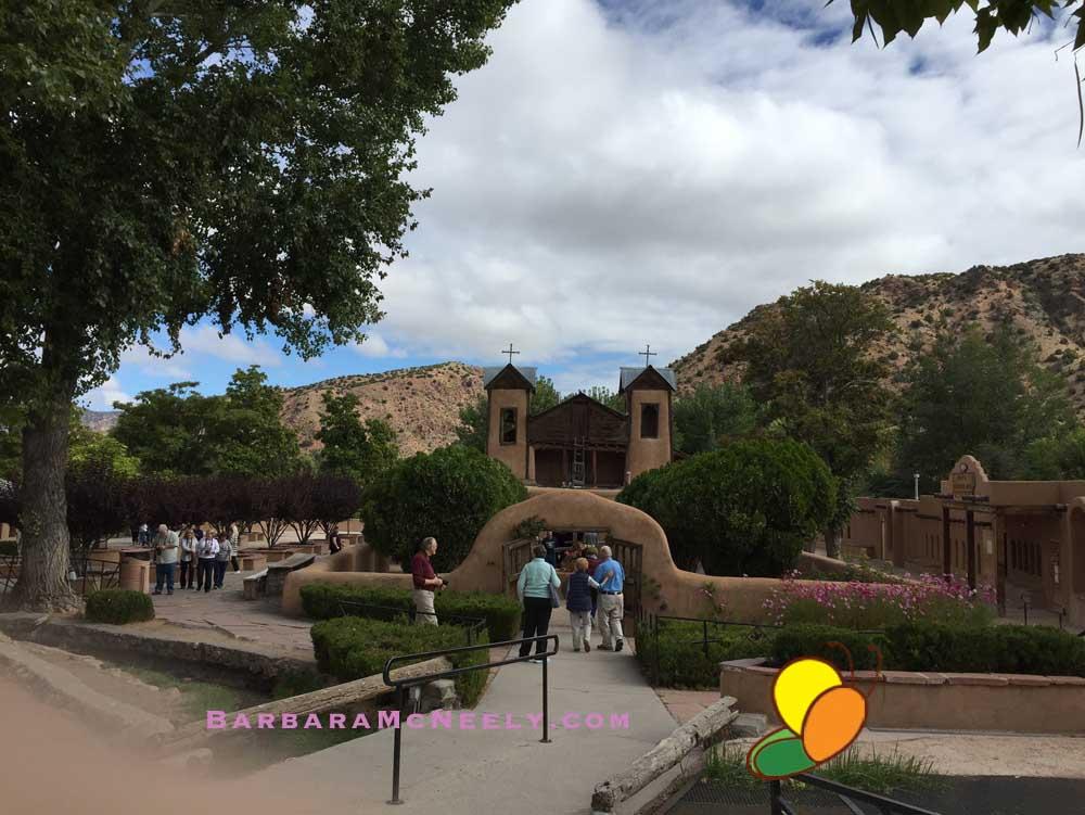 El Santuario de Chimayo - a peaceful. sacred place