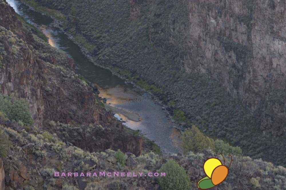 Rio Grande Gorge - from the bridge