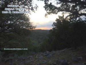 Sunset at Bella Green.