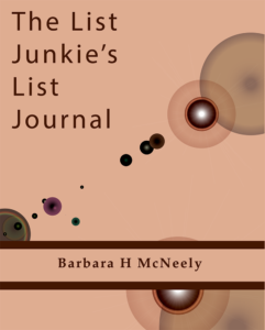 The List Junkies List Journal Cover