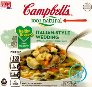 Front Food Label Natural