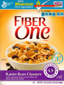 Front Food Label Whole Grain