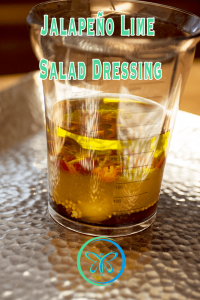 Jalapeño Lime Salad Dressing