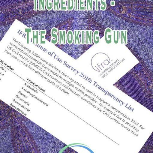 Fragrance Ingredients - The Smoking Gun