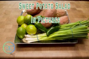 Sweet Potato Salad In Pictures