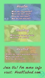 Healer:Healing:Healed