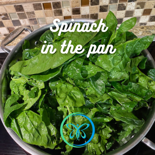 Spinach In The Pan